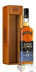 Saint James agricole vieux aged 12 years rum of Martinique 43% vol.    0.70 l