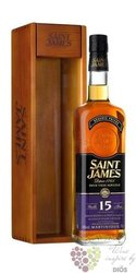 Saint James agricole vieux aged 15 years rum of Martinique 43% vol.    0.70 l