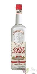 """Saint James """" Imperial blanc """" rum of Martinique 40% vol.  1.00 l"""