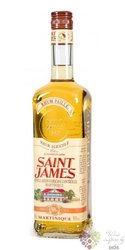 "Saint James agricole "" Paille "" rum of Martinique 40% vol.  1.00 l"