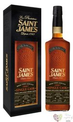 Saint James agricole vieux 1997 single cask rum of Martinique 42.7% vol.  0.70 l