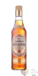 "Capitan Bucanero "" Viejo anejo "" aged rum of Dominican republic 38% vol.  0.70 l"