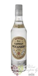 "Capitan Bucanero "" blanco "" rum of Dominican republic 38% vol.  0.70 l"