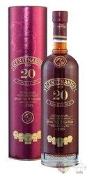 """Centenario """" Fundación premium selección """" aged 20 years Costa Rican rum 40% vol.    0.70 l"""