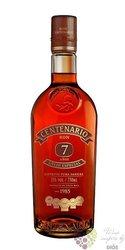 """Centenario """" Aňejo Especial """" aged 7 years Costa Rican rum 40% vol. 0.70 l"""