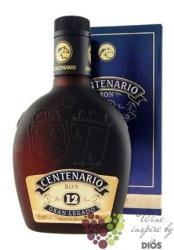 """Centenario """" Gran Legado """" aged 12 years Costa Rican rum 40% vol.    0.70 l"""