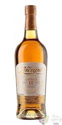 "Zacapa Centenario "" 12 Ambar  "" aged rum of Guatemala 40% vol.  1.00 l"