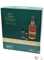 "Zacapa Centenario "" Solera 15 reserva "" glass Riedel set rum of Guatemala 40% vol.  0.70 l"