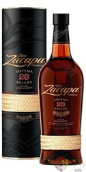 "Zacapa Centenario "" 23 Solera Gran reserva "" aged rum of Guatemala 40% vol.  1.00 l"