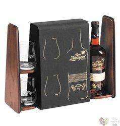"""Zacapa Centenario glass pack 2014 """" 23 Solera Gran reserva """" rum of Guatemala 40% vol.   0.70 l"""