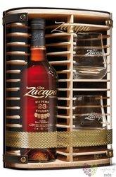 "Zacapa Centenario "" 23 Solera Gran reserva "" glass set rum of Guatemala 40% vol.  0.70 l"