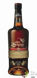 "Zacapa Centenario "" 23 Solera Gran reserva "" aged rum of Guatemala 40% vol.  0.05 l"