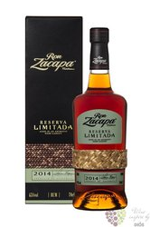 "Zacapa Centenario "" Reserva limitada 2014 "" aged rum of Guatemala 45% vol.    0.70 l"