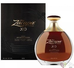 "Zacapa Centenario "" XO gran reserva especial "" aged rum of Guatemala 40% vol.  0.75 l"