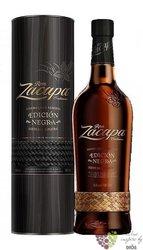 "Zacapa Centenario "" edicion Negra "" aged rum of Guatemala 43% vol.  0.70 l"