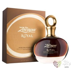 "Zacapa Centenario "" Royal gran reserva especial "" gift box aged rum of Guatemala 43% vol.  0.70 l"