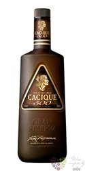 "Cacique 500 "" Extra Aňejo "" aged rum of Venezuela 40% vol.     0.70 l"