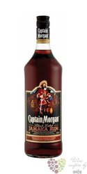"Captain Morgan "" Jamaica Black label "" Jamaican dark rum 40% vol.   1.00 l"