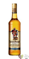 "Captain Morgan "" Original Spiced Gold "" Jamaican flavored rum 35% vol.   0.70 l"