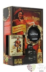 "Captain Morgan "" Original Spiced Gold "" cannonball pack Jamaican rum 35% vol.  0.70 l"