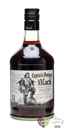 "Captain Morgan "" Black Spiced "" flavored Jamaican dark rum 37.5% vol.    0.70 l"
