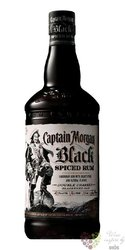 "Captain Morgan "" Black Spiced "" flavored spirits 40% vol.     0.70 l"