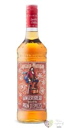 "Captain Morgan "" Gingerbread Spiced ""  Jamaican flavored rum 30% vol.  0.50 l"