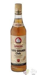 "Cayo Grande Club "" Spiced "" flavored Caribbean rum 37.5% vol. 0.70 l"