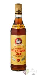 "Cayo Grande Club "" Elixir honey "" flavored Caribbean rum 20% vol.  0.70 l"