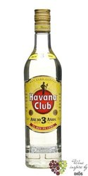 "Havana club "" Aňejo 3 aňos "" white Cuban rum 40% vol.  3.00 l"