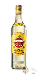 "Havana club "" Aňejo 3 aňos "" white Cuban rum 37.5% vol.  0.70 l"