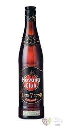 """Havana club """" Aňejo 7 aňos """" aged Cuban rum 40% vol.  0.05 l"""