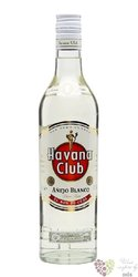"Havana club "" Aňejo blanco "" white Cuban rum 37.5% vol.  1.00 l"