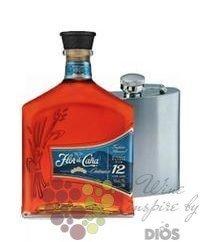 "Flor de Cańa "" Centenario "" aged 12 years flask pack Nicaraguan rum 40% vol.   0.70 l"