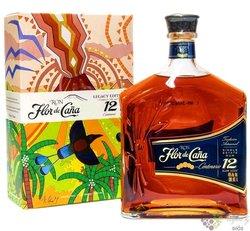 "Flor de Cańa "" Centenario Legacy no.1 "" slow aged 12 years Nicaraguan rum 40% vol.  0.70 l"