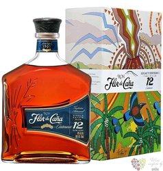 "Flor de Cańa "" Centenario Legacy no.1 "" slow aged 12 years Nicaraguan rum 40% vol.  1.00 l"
