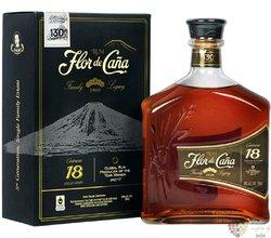 "Flor de Cańa "" Centenario 18 "" slow aged 18 years Nicaraguan rum 40% vol.  0.70l"