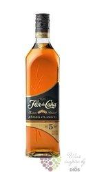 """Flor de Cańa """" Aňejo clasico """" slow aged 5 years Nicaraguan rum 40% vol.    0.70 l"""