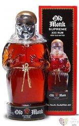 "Old Monk "" Supreme XXX "" 18 years old blended Indian rum Mohan Nagar distillers42.8% vol.    0.70 l"