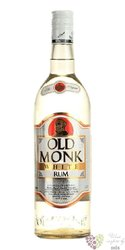 "Old Monk "" White "" Indian rum Mohan Nagar distillers 37.5% vol.  0.70 l"