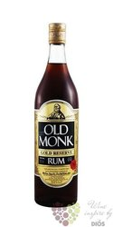 "Old Monk "" Black "" blended Indian rum Mohan Nagar distillers 38% vol.    0.70 l"