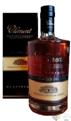 "Clément agricole tres vieux "" 10 ans "" gift tube aged 10 years rum of Martinique 44% vol.0.70 l"