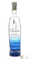 "Clément agricole blanc 2016 "" Canne bleue "" rum of Martinique 50% vol.   0.70 l"
