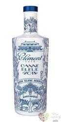 """Clément agricole blanc 2018 """" Canne bleue """" rum of Martinique 50% vol.  0.70 l"""