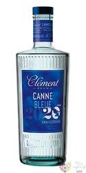 """Clément agricole blanc 2015 """" Canne bleue """" rum of Martinique 50% vol.   0.70 l"""