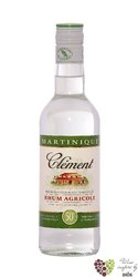 "Clément agricole blanc "" 50 "" white rum of Martinique 50% vol.  0.70 l"