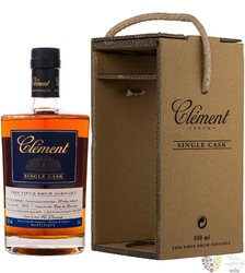 "Clément agricole tres vieux 2010 "" Single Cask Moka Intense "" rum of Martinique42.2% vol. 0.50 l"