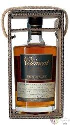 """Clément agricole tres vieux """" Single Cask Canne bleue """" 2005 rum of Martinique 41.5% vol.  0.5 l"""