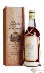 Clément agricole vieux 1970 aged vintage rum of Martinique 44% vol.    0.70 l