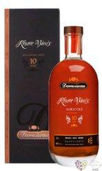"""Damoiseau agricole vieux 2009 """" 10 ans d´Age """" rum of Guadeloupe 42% vol.  0.70l"""
